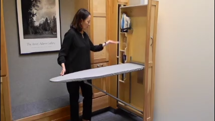 Do you want a full-size ironing board at the ready when ...