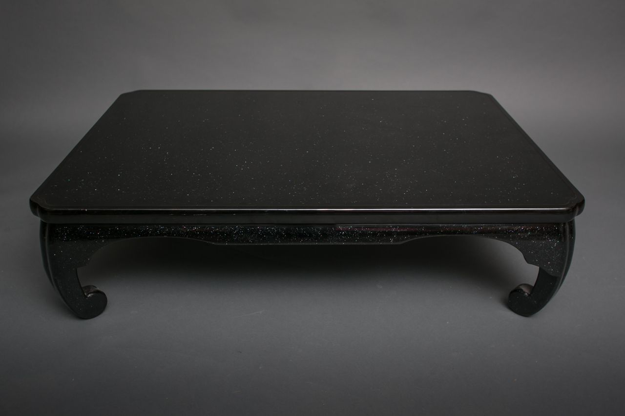 Japanese Black Lacquer Coffee Table Naga Antiques Coffee Table