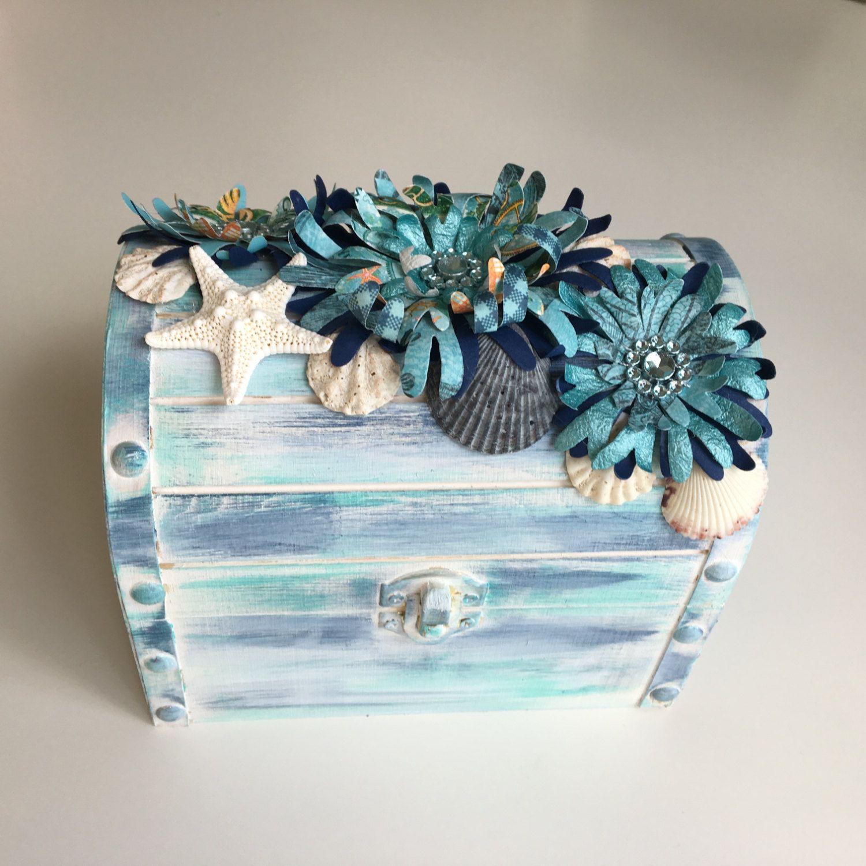 Nautical Jewelry Box by ThumbtacksAndPaper on Etsy If I were a