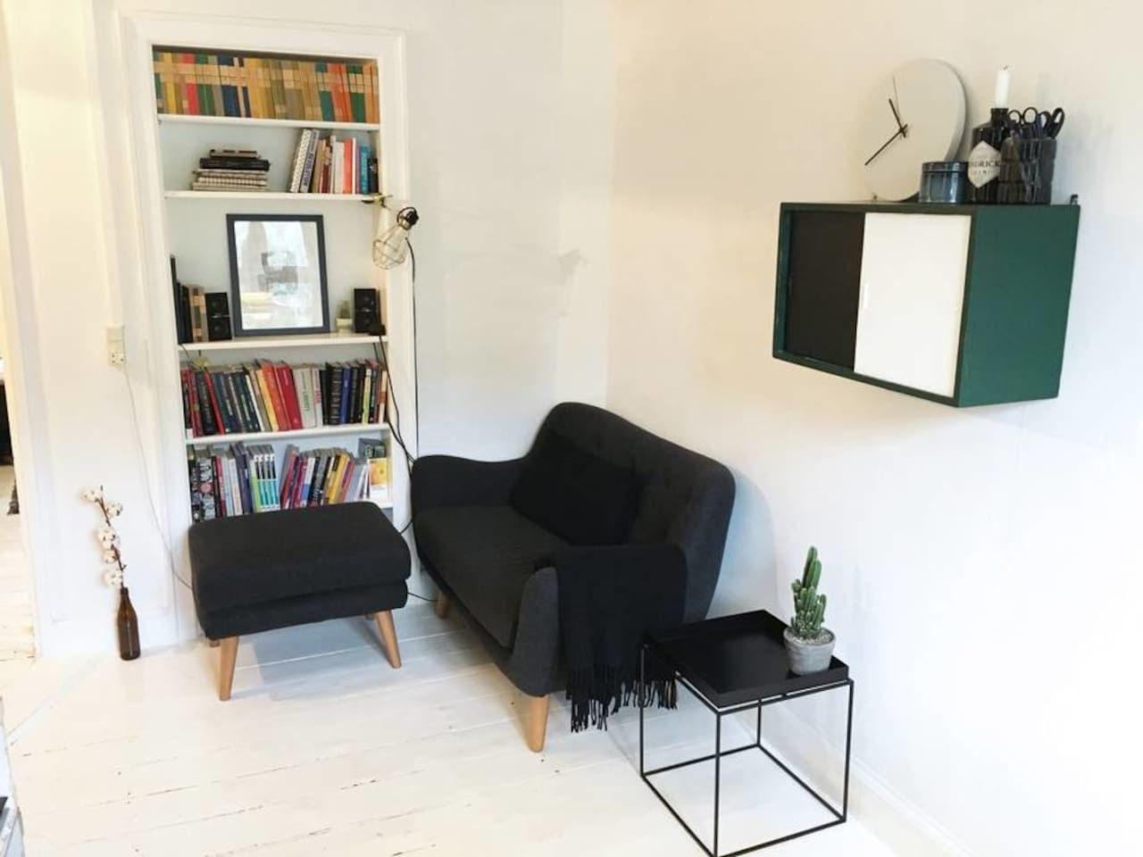 Cozy apartment in trendy neighborhood - 코펜하겐(Copenhagen)의 아파트에서 살아보기