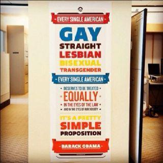 Gay rights go Obama