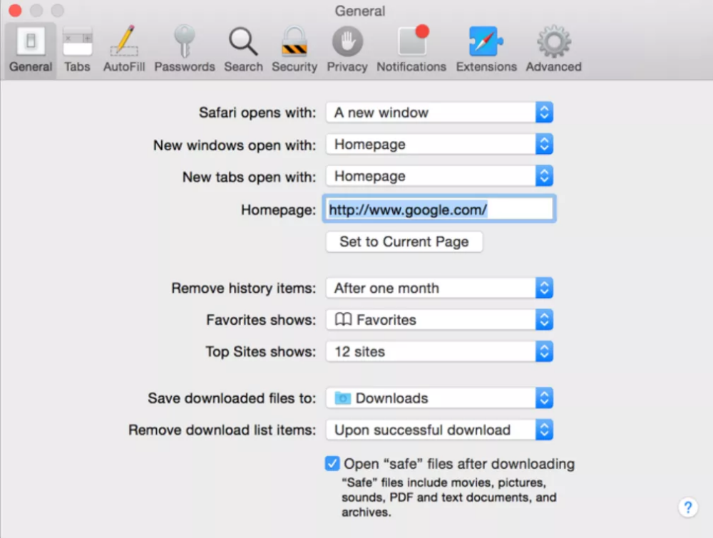 Disable Safari U0026 39 S  U0026 39 Open Safe Files After Downloading U0026 39  Feature