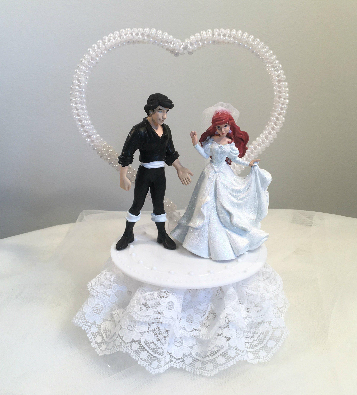 Attractive Little Mermaid Wedding Cake Topper Model - Wedding Idea ...