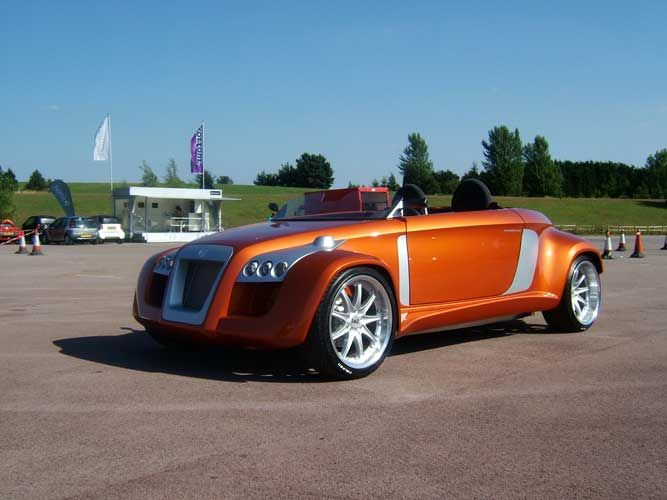 "the michalak c7 ""kit car."" this is basically a smartcar conversion"
