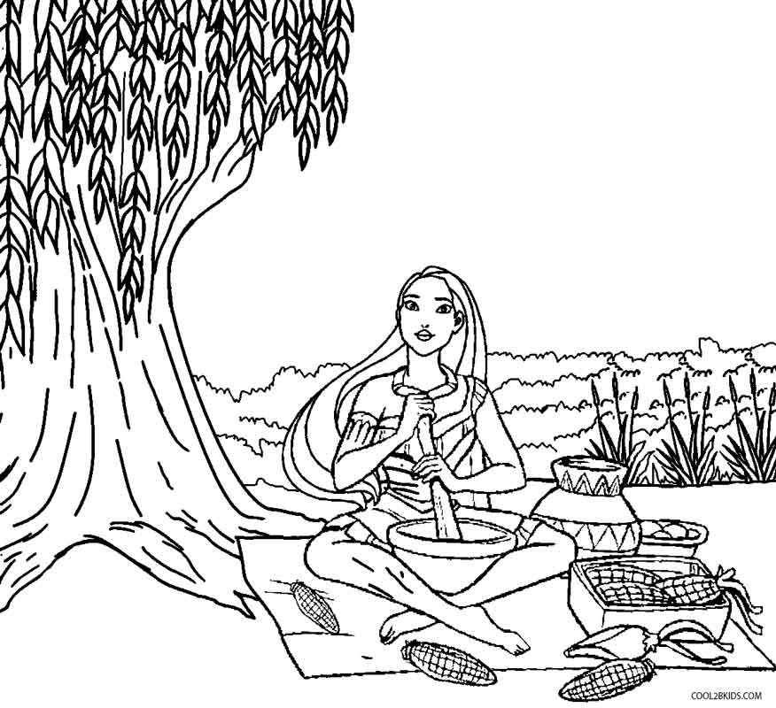 Pocahontas Coloring Sheets Printable Pocahontas Coloring Pages