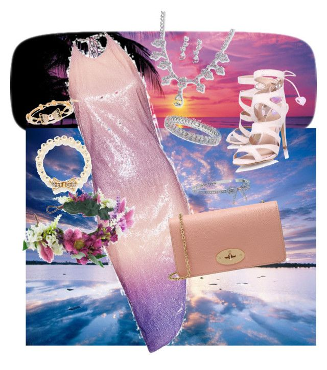 """Untitled#17"" by madisonpearl on Polyvore featuring Brewster Home Fashions, Cushnie Et Ochs, Palm Beach Jewelry, Rock 'N Rose, Miss KG, Mulberry, Miriam Haskell, Peermont, Finesque and Betsey Johnson"