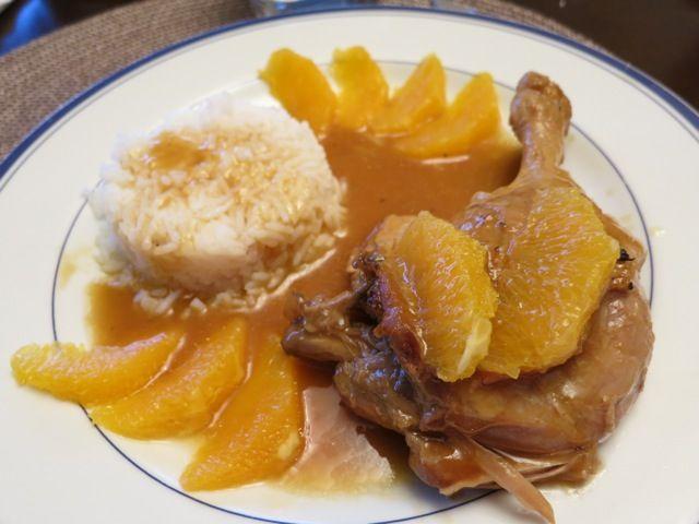 Филе утки в апельсиновом соусе