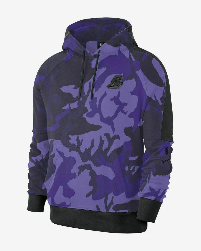 Nike Nba Los Angeles Lakers Camo Hoodie Mens 2xl Field Purple Active Bq5029 504 Nike Hoodie Casual Hoodies Nike Men Camo Hoodie [ 1000 x 800 Pixel ]
