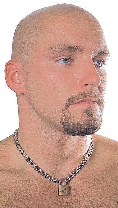 Jamin Leather Padlock Necklace N218lock Padlock Necklace