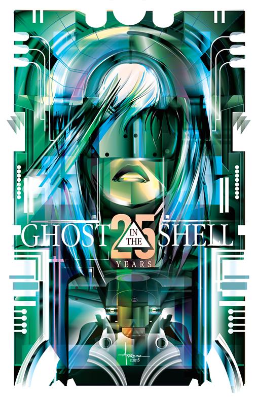 Image of GHOST in the SHELL 24x36 Edition 25 2015