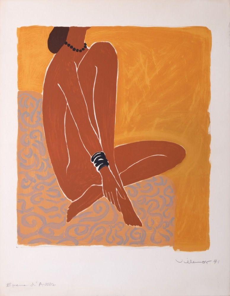 bergasol les parisiennes epreuve d\'artiste sur grand papier : 1971 ...