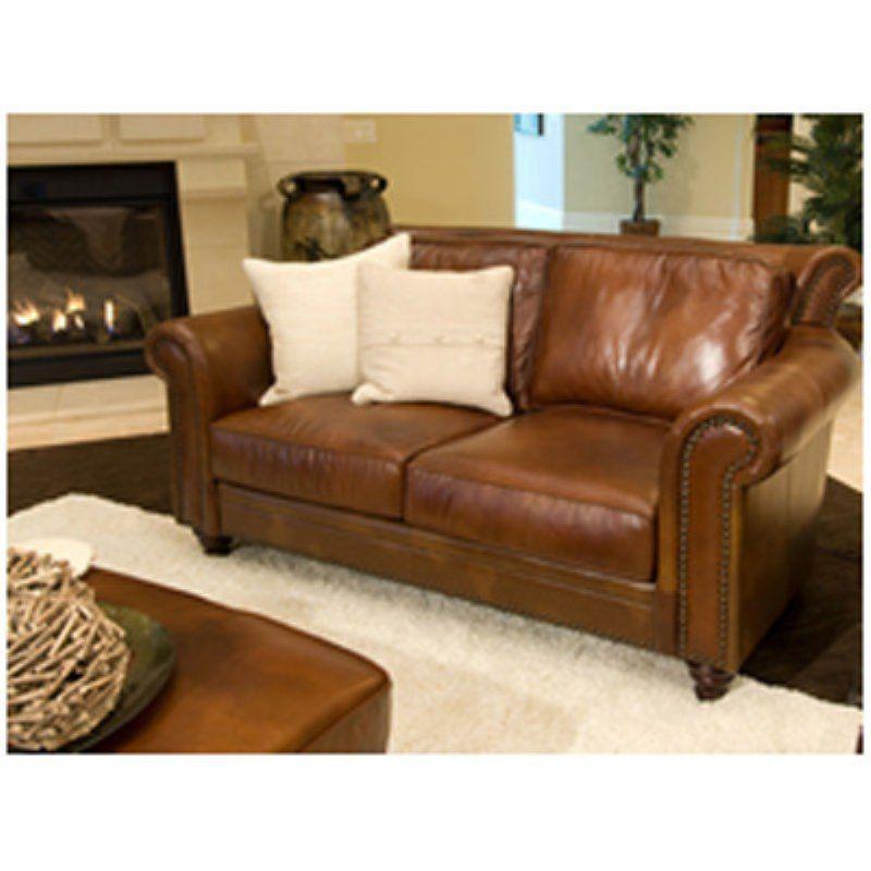 Paladia Top Grain Leather Loveseat In Rustic Pal L Rust 1 Nh025 Leather Sofa Leather Sofa Set Leather Loveseat #rustic #leather #living #room #set