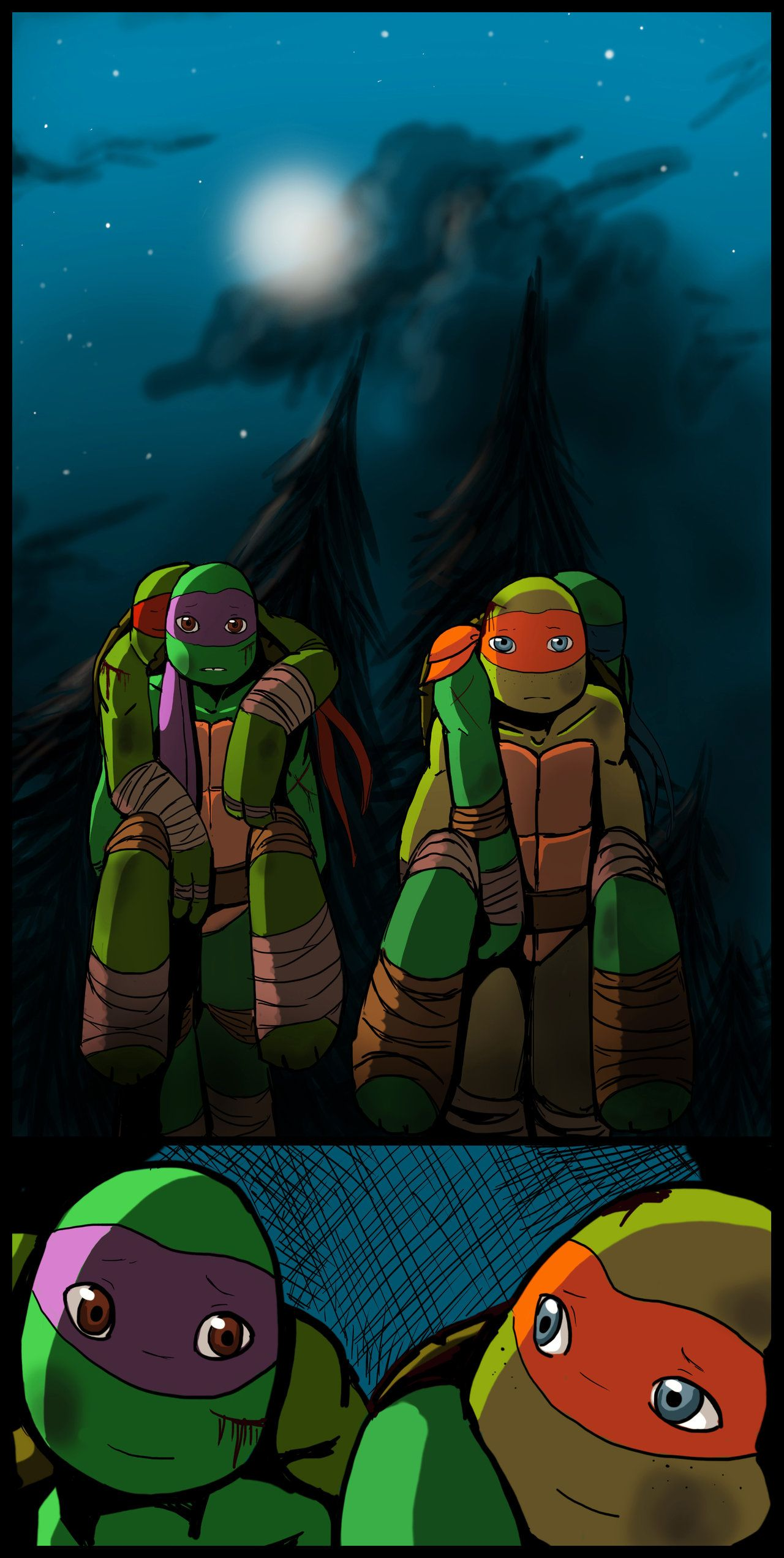 Big Brothers By Yinller Deviantart Com On Deviantart Teenage Ninja Turtles Ninja Turtles Art Teenage Mutant Ninja Turtles