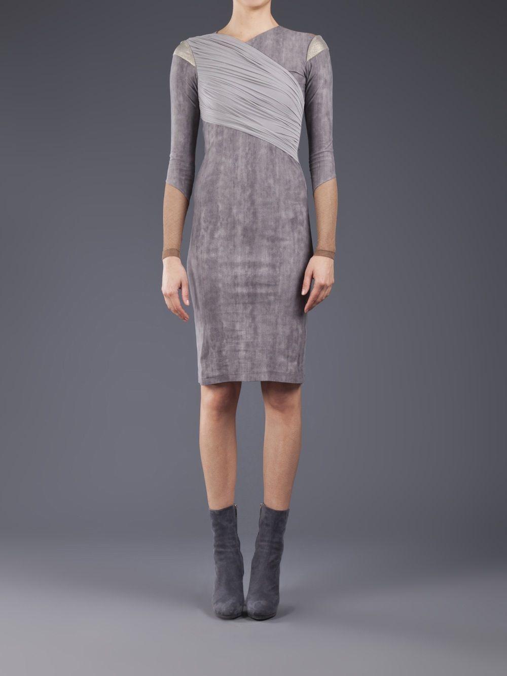 Vpl Peveration Dress - Elizabeth Charles - farfetch.fr   - LIKE ...