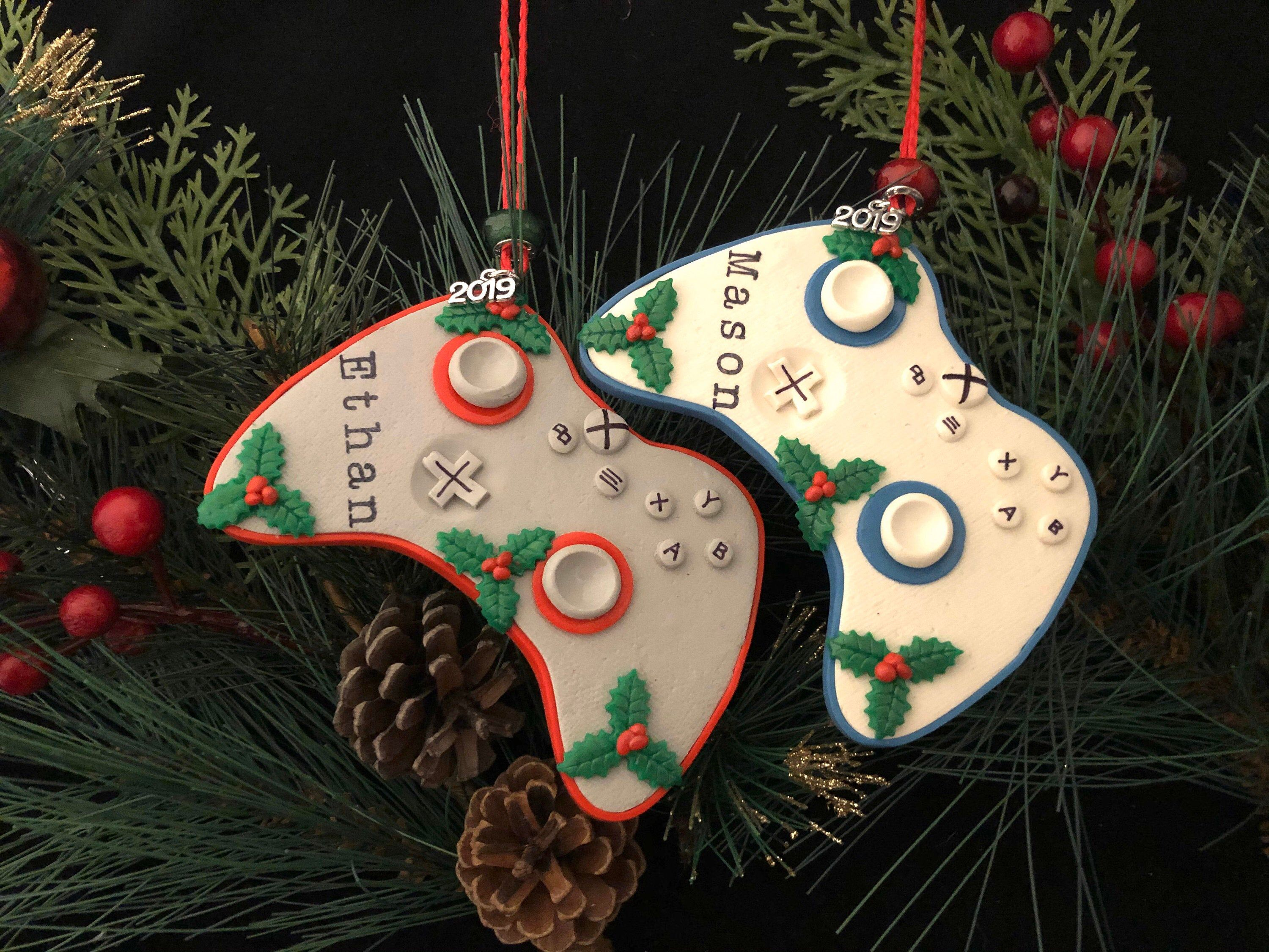 Xbox Controller Personalized Ornament 2020 Gift Tag Video Etsy In 2020 Christmas Ornaments Gifts Christmas Ornaments Personalized Christmas Ornaments