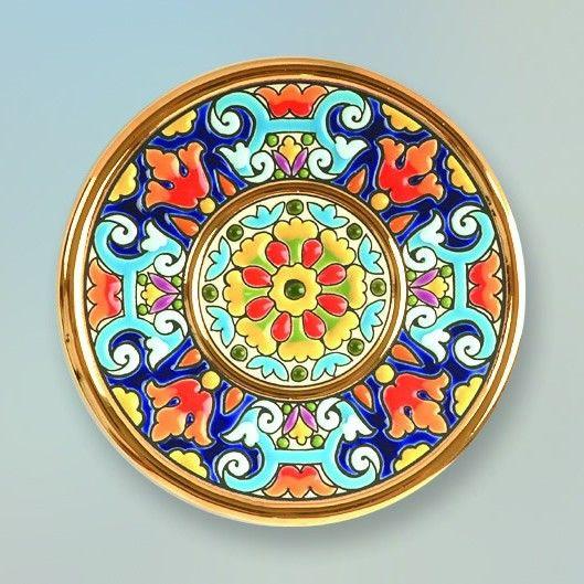 Decorative Plate 14 cms. Handmade in Sevilla. Isbiliya (Al-Ándalus).  sc 1 st  Pinterest & Decorative Plate 14 cms. Handmade in Sevilla. Isbiliya (Al-Ándalus ...