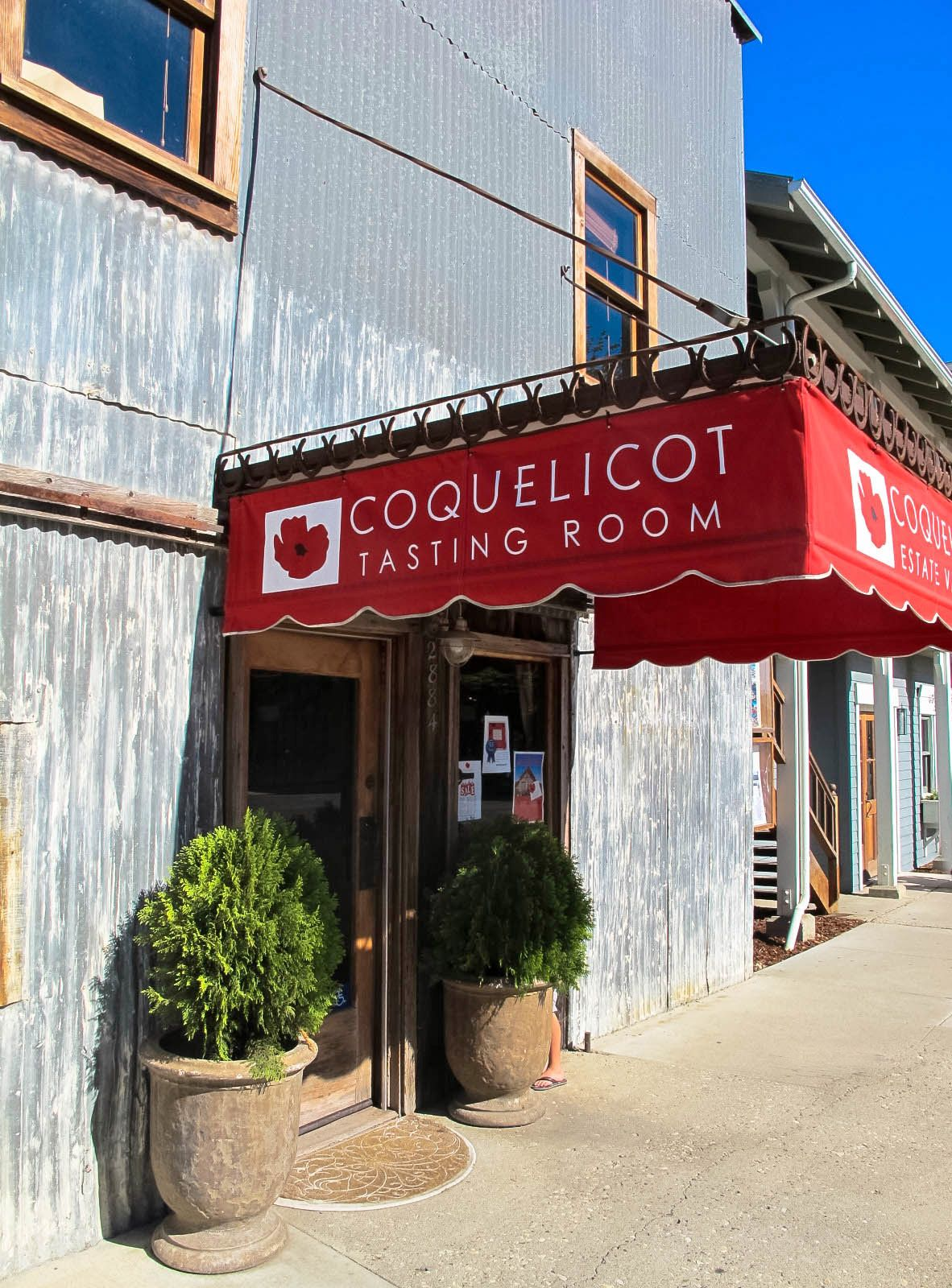 Coquelicot Estate Winery Tasting Room Wine Recipes Travel Food