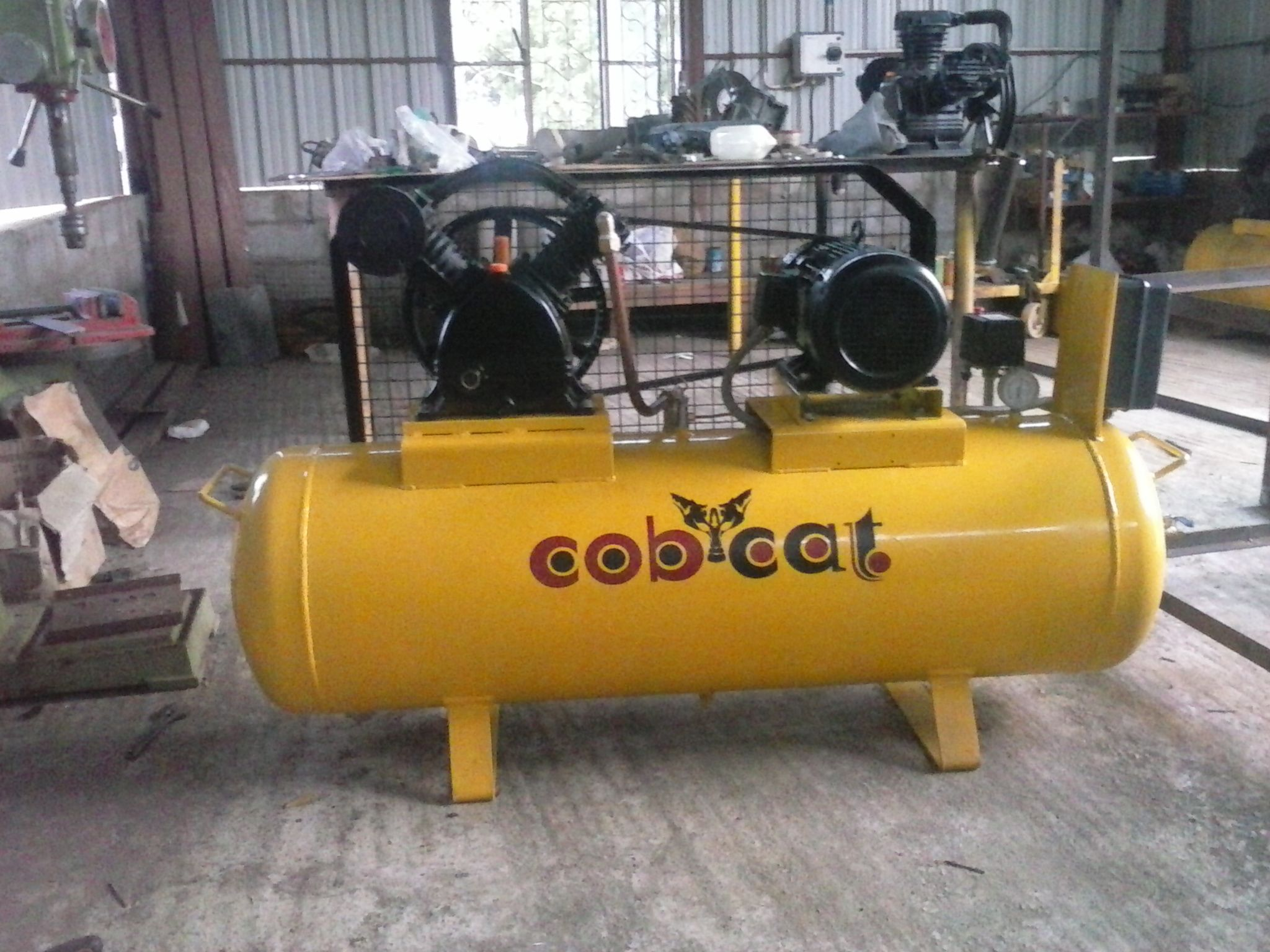 COBCAT heavy duty air compressors air compressor
