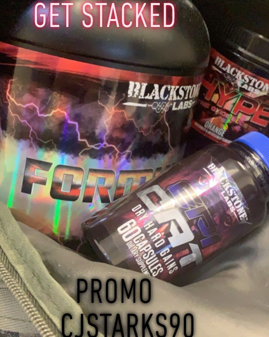 GET STACKED with @blackstonelabs_official use promo CJSTARKS90 @blackstonelabs_legion  #bodybuilding...
