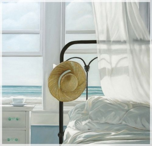 bedroom by the beach