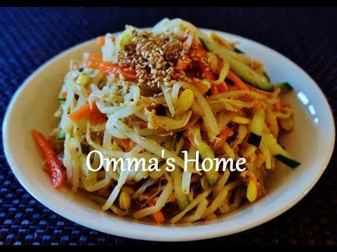 Recipe: Healthy Vegan Korean Soybean Sprouts Salad aka Kongnamul Muchim 콩나물무침