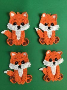 Baby Fox Crochet Pattern • Kerri's Crochet