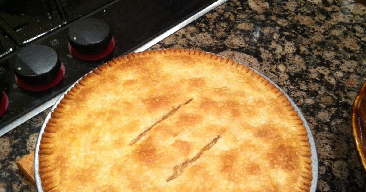 Real Cajun Cooking - Pure and Simple: Homemade Cajun Chicken Pot Pie