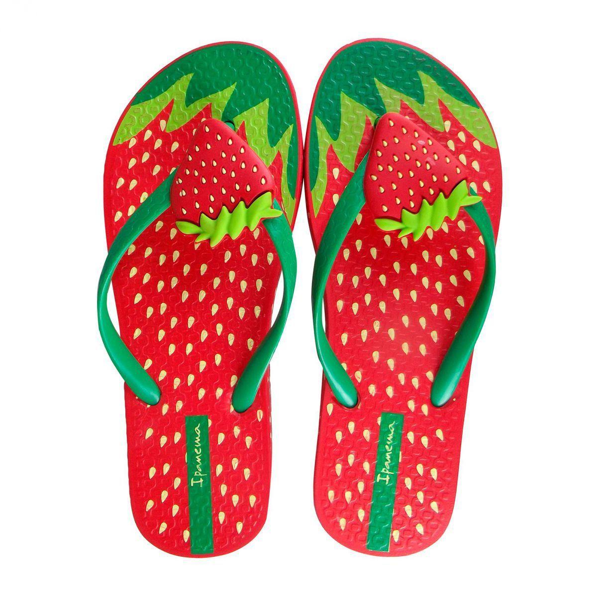 Ipanema Kids Tutti Frutti Flip Flops Strawberry | Pinterest