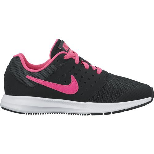 f8afc8568d87 Nike Girls  Downshifter 7 Running Shoes (Black Hyper Pink White ...