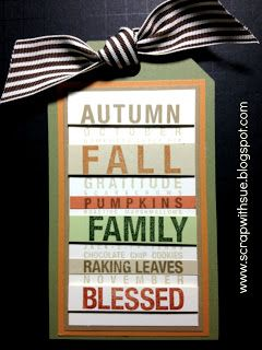 CTMH Poster Tidings Tag September Stamp of the Month www.scrapwithsue.blogspot.com