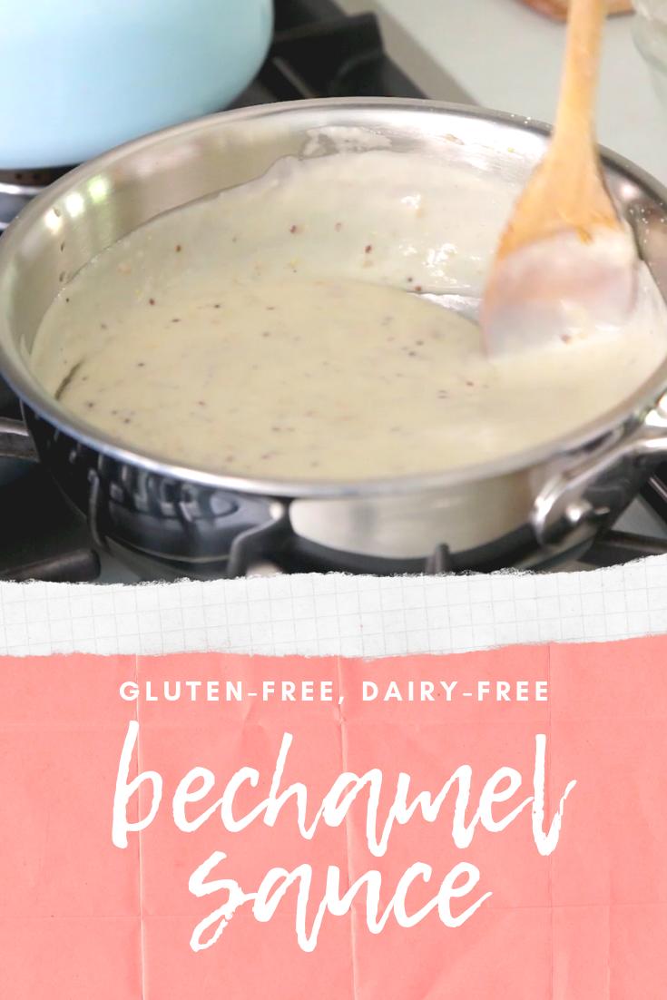 Easy Vegan White Sauce Bechamel Diary Free Gluten Free Creamy Sauce Plant Based Recipes Breakfast Healthy Plant Based Recipes Easy Vegan
