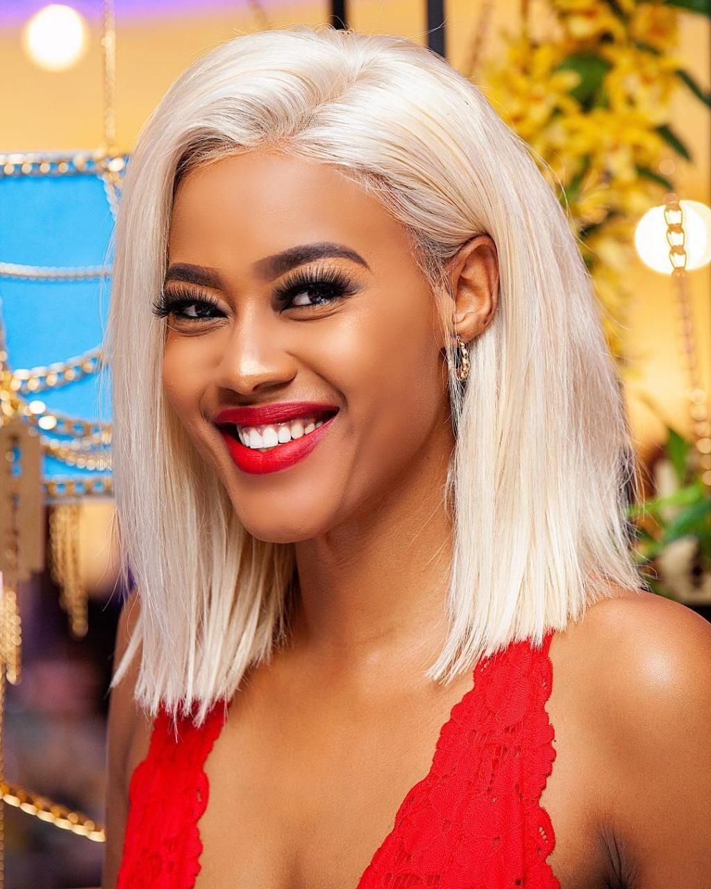 23 Bright Hair Colors For Dark Skin in 2020 Dark blonde