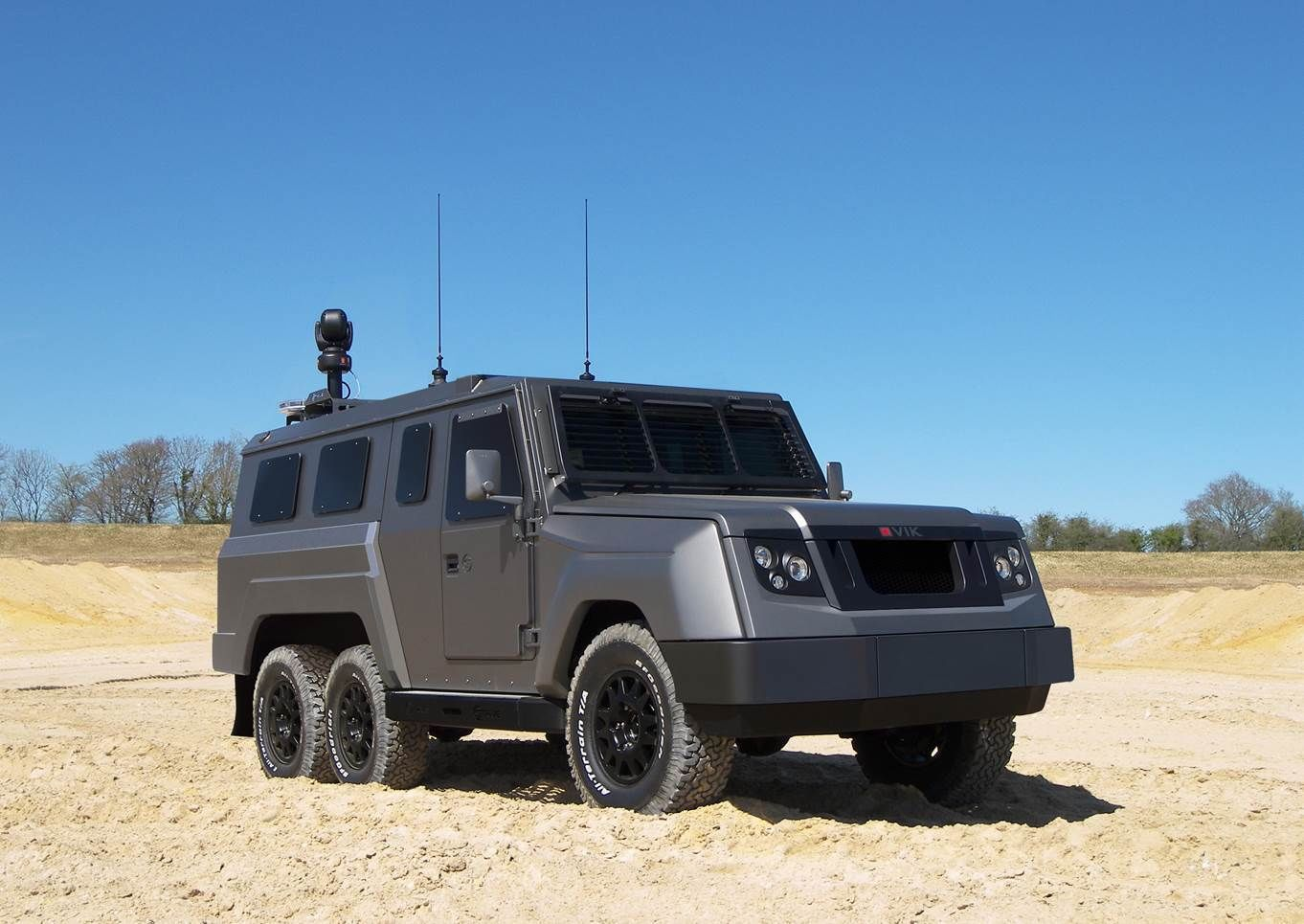 Armoured Vehicle - B7 Armour OVIK CROSSWAY 4x4 and 6x6 | eBay | On ...