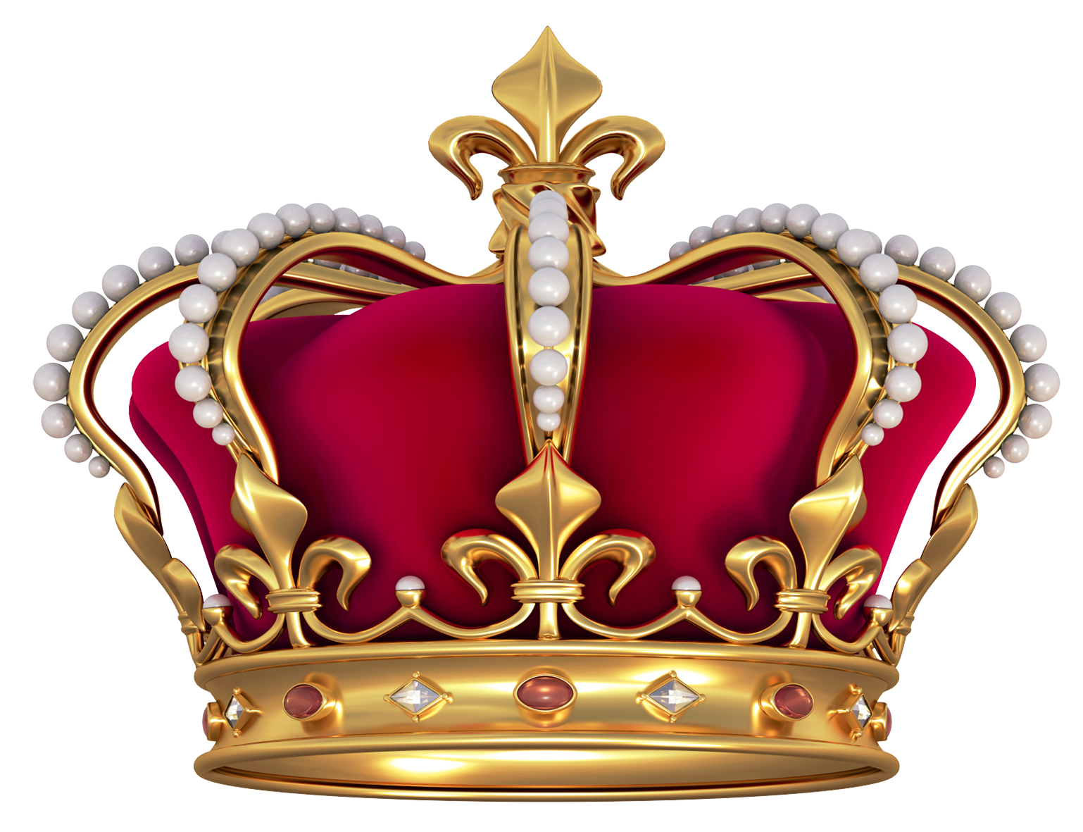 Red gold crown with pearls png clipart picture crafting for Red with gold