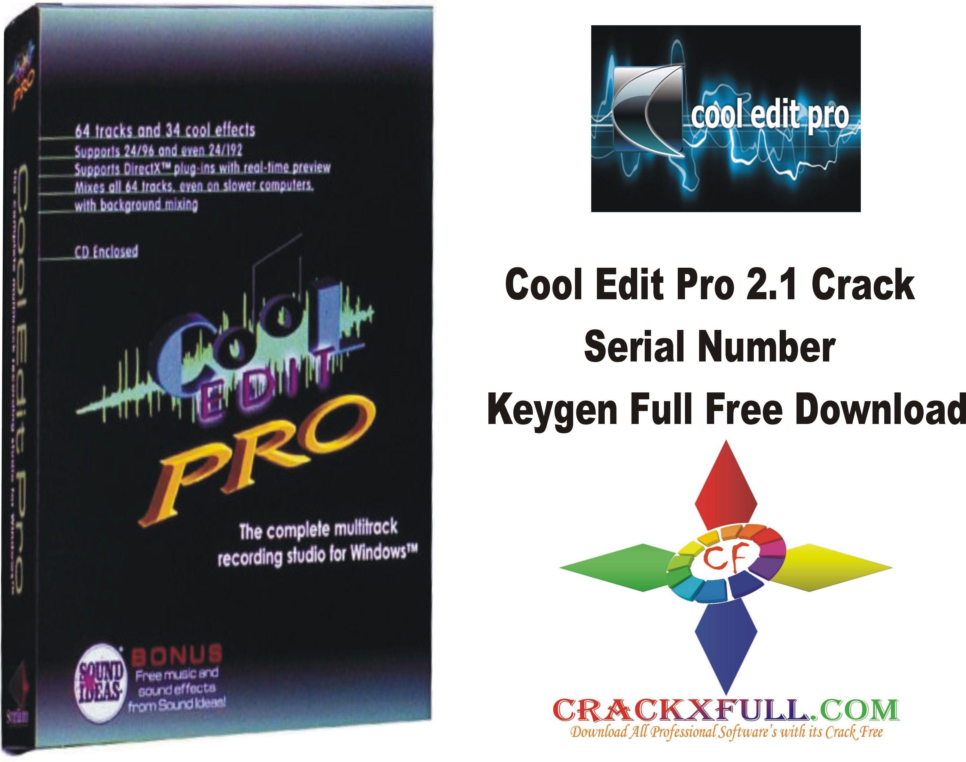 cool edit pro 2.1 free download full version