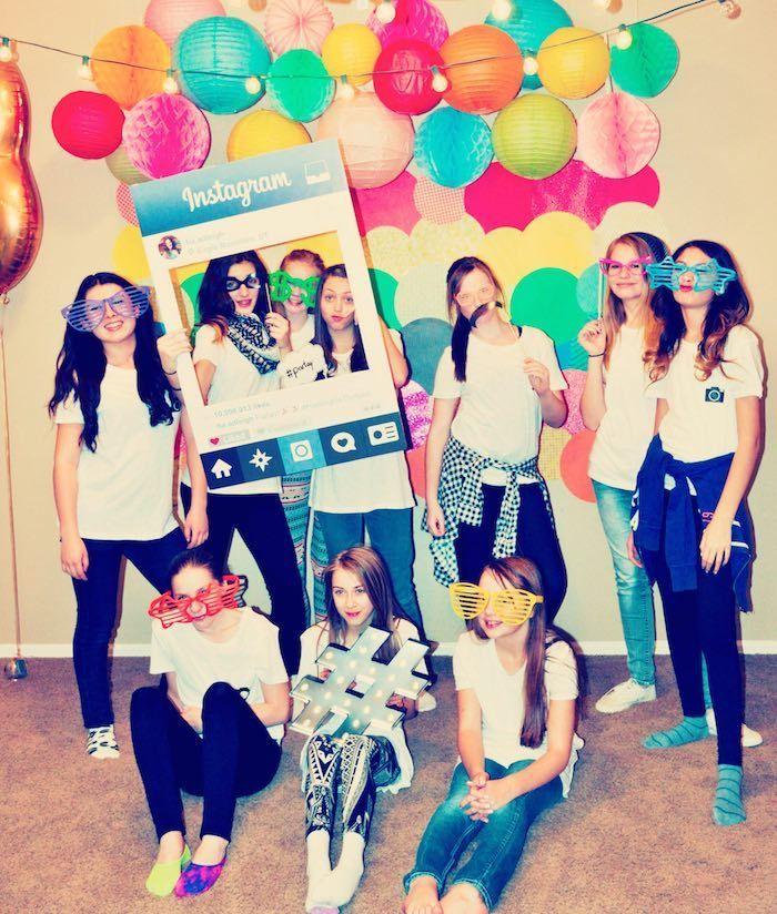 Glam Instagram Themed 13th Birthday Party