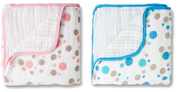 from Not Finding Out, the only baby registry specifically for parents who aren't finding out if it's a girl or boy:  Aden + Anais dream blanket