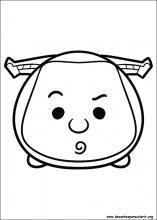 Desenhos Do Tsum Tsum Para Colorir Desenhos P 225 Ginas