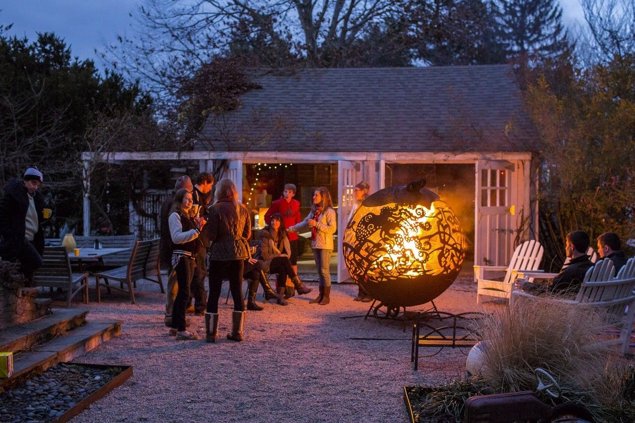 backyards built for winter use infrared heater backyard and
