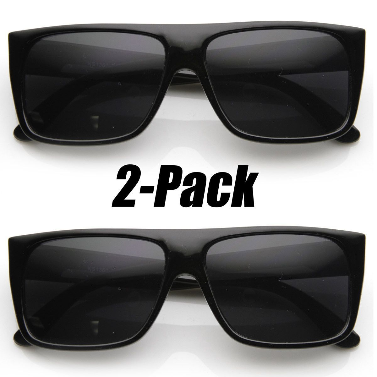 51bc026c63 Classic Old School Eazy E Square Flat Top OG Loc Sunglasses