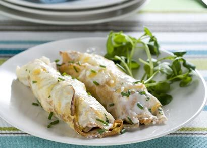 Royco Meal Inspiration   Recipes   Quick meals - Pork - Ham, Cheese and Mushroom pancakes