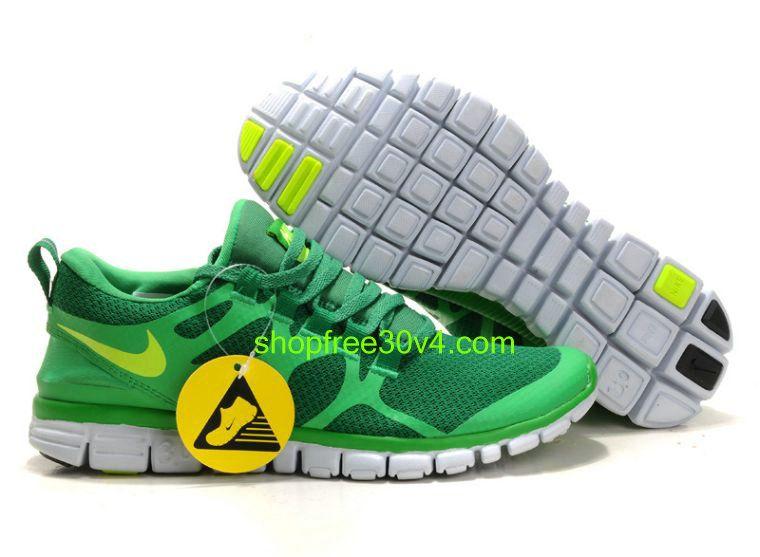 TaG7250 Nike Free 3.0 V3 Men's Running Shoe Lucky GreenVolt
