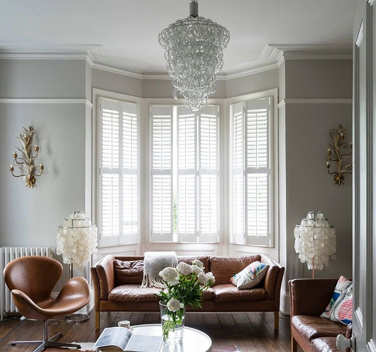 living room wall paint colors%0A Another fabulous paint color by Farrow and Ball is Purbeck Stone  see more