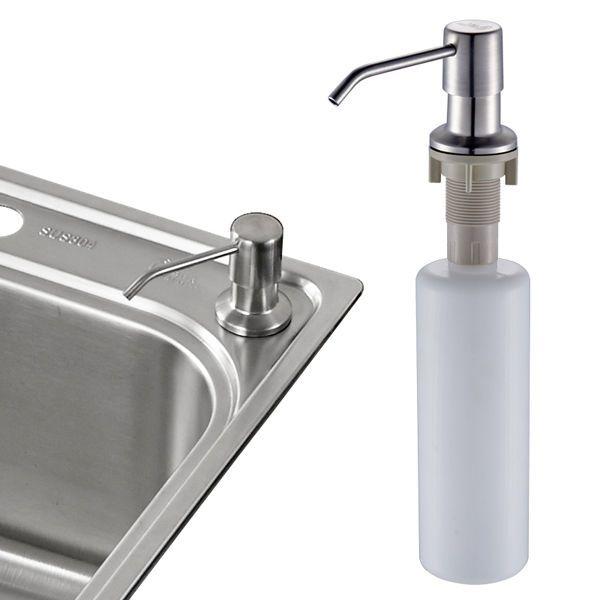 kitchen sink liquid soap dispenser lotion pump countertop abs rh pinterest com