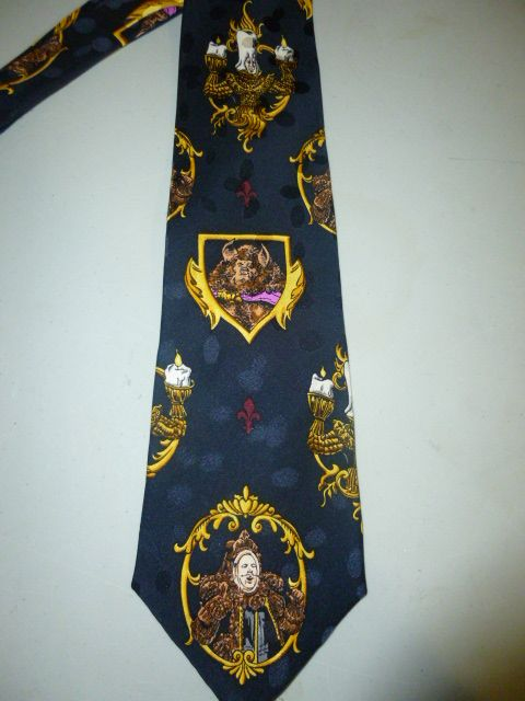 ad1055d4d170 Disney Beauty and the Beast Tie Necktie | For Sale Fabulous Mens ...