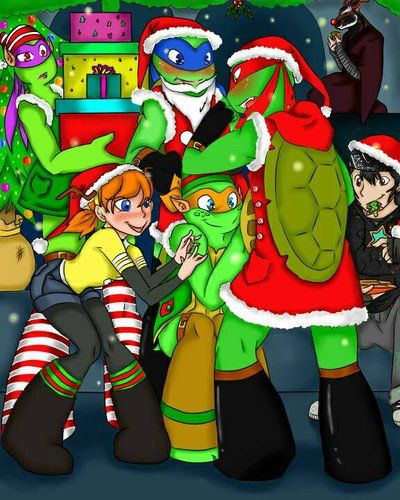 Merry christmas to all by shesu94 on deviantart ninja turtle ninja turtles merry christmas to all by shesu94 on deviantart sciox Image collections