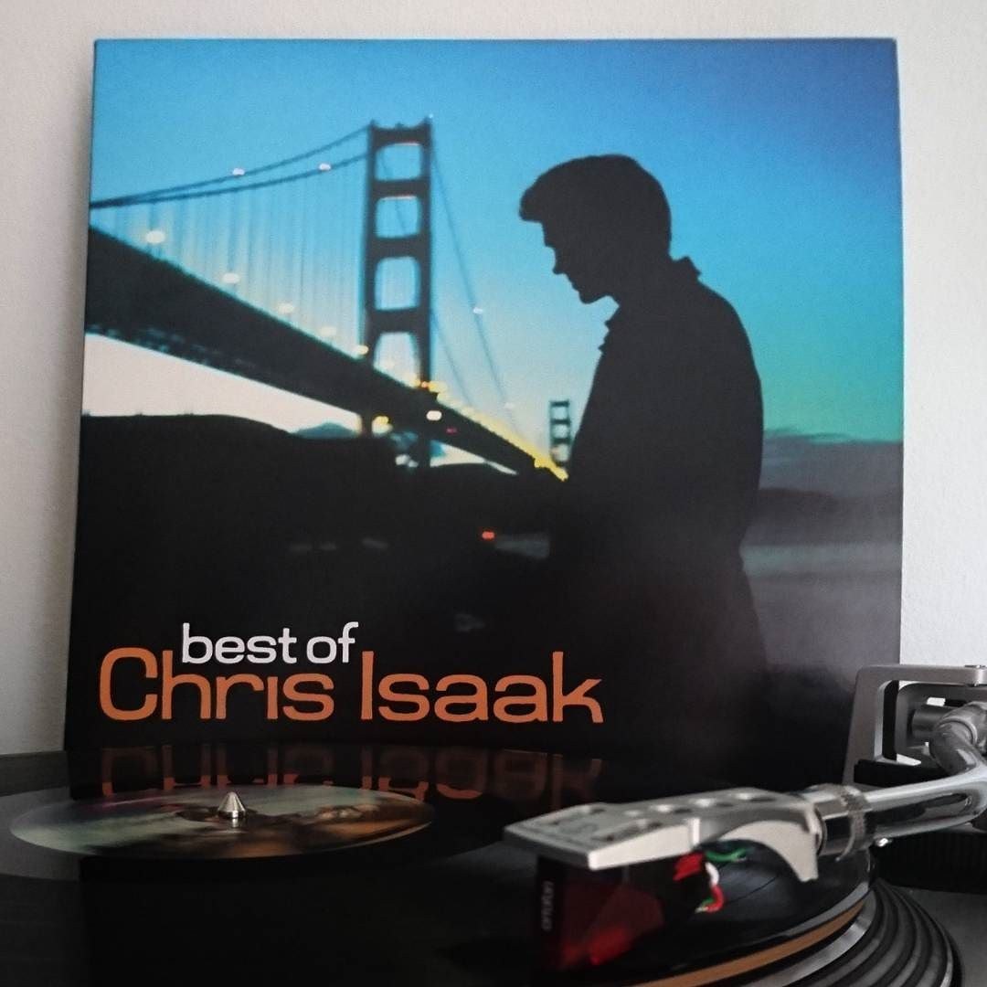 Chris Isaak - Best Of (2016) It may be the greatest hits and worst quality pressing but the music speaks the loudest.  #chrisisaak #bestof #nowspinning #records #vinyl #vinylrecord #recordcollector #vinylcollector #vinyladdict #vinylcollectionpost #cratedigging #recordcollection #vinyligclub #vinylcollection #vinyljunkie #record #vinylcollectionpost by blakdog