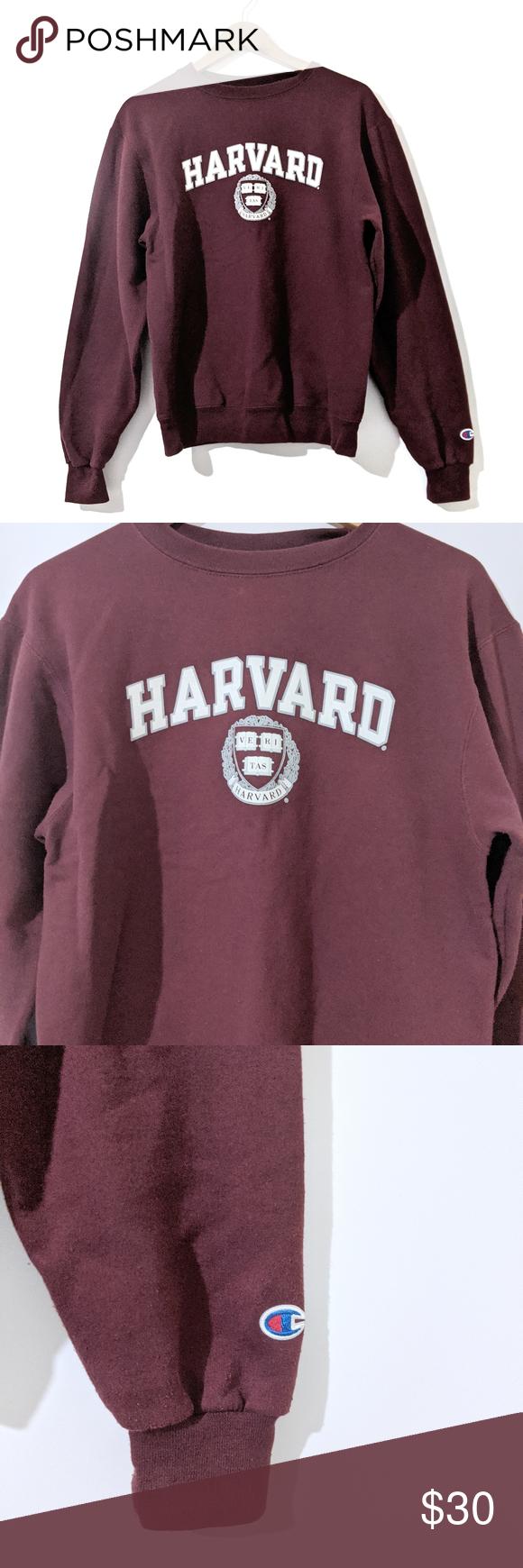 Harvard Seal Marion Crewneck Sweatshirt Champion Sweatshirts Crew Neck Sweatshirt Sweatshirt Tops [ 1740 x 580 Pixel ]