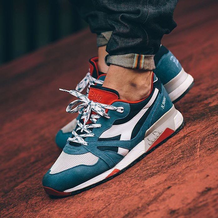 Patta x Diadora N.9000 | Running shoes for men, Shoes mens