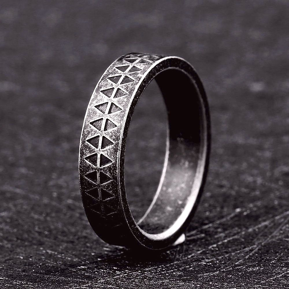 Viking Style Simple Ring in 2020 Antique engagement